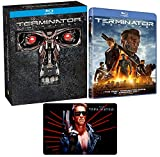 Terminator: 5 Movie Blu-ray Ultimate Collection Complete Film Series with Bonus Art Card (Judgment Day / Genisys and More )