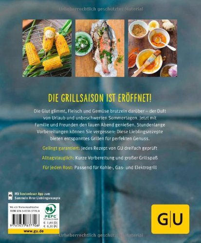 51dewEVzqZL - Grillen: Raffiniertes vom Rost