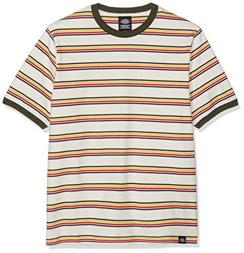 Dickies Herren New Paltz T-Shirt, Grün (Heath Green HEA), Small (Herstellergröße:Small) -