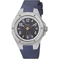 Esprit Women's Quartz Watch with Purple Dial Analogue Display and Purple Silicone Lucent ES900662006