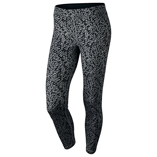 Nike Pronto Essential Crop – Damen Running Tights XS grau / silber (Capri Running Tights)