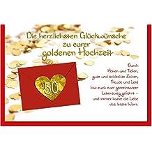 Suchergebnis Auf Amazonde Für Glückwunschkarte Goldene
