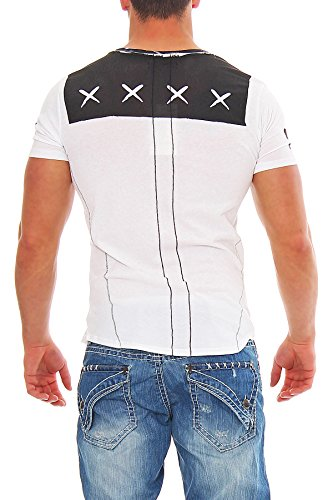 Religion Herren T-Shirt ROLL YOUR WEED - Weiß