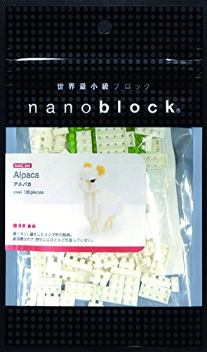 NanoBlock NBC008 Alpaca Building Set