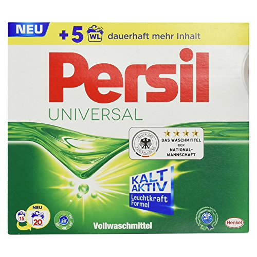 Persil Universal Vollwaschmittel, 20 Waschladungen, 1,3 kg