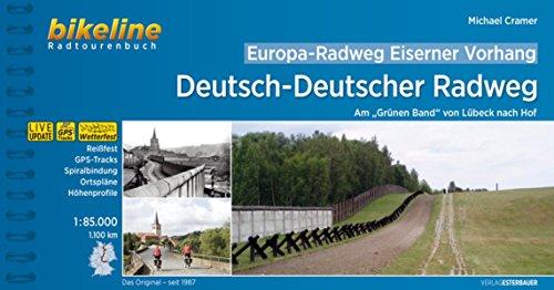 Buch Grüne Grenze (Europa-Radweg Eiserner Vorhang Deutsch-Deutscher Radweg: Am Grünen Band - von Lübeck nach Hof 1:85.000, wetterfest/reißfest, Spiralbindung (Bikeline Radtourenbücher))