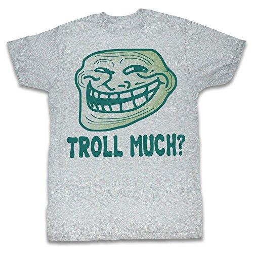 American Classics Du bist verrückt? bist du sauer, bruder? meme gif troll viel trending? u mad bro? T-shirt für Herren 3X-Groß Grau