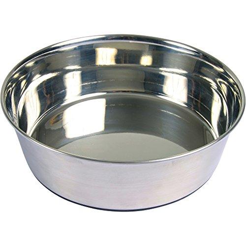 Trixie-acciaio-gomma-pavimento-Bowl
