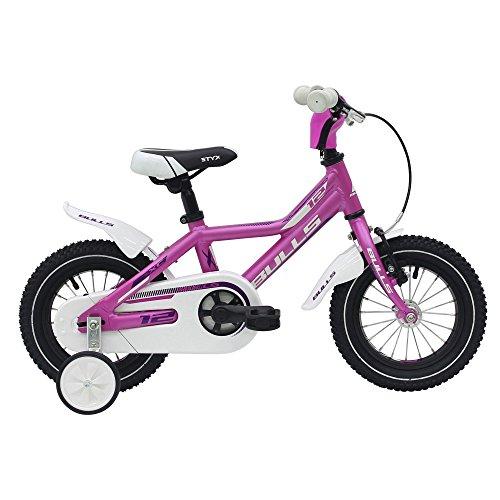 Bulls Tokee Lite 12 Zoll Mädchen Kinderfahrrad Mountainbike 12' Kinderbike MTB, Farbe:Pink;Rahmenhöhe:19 cm