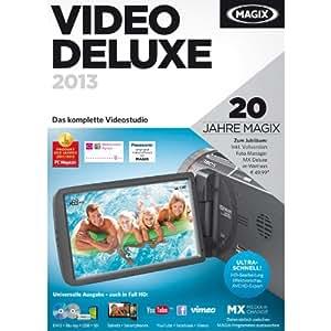 MAGIX Video deluxe 2013 (Jubiläumsaktion inkl. Foto Manager MX Deluxe) [Download]
