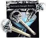 Skeleton Crew Canape Sticks, Pack of 24