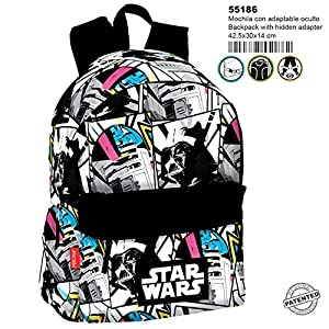 51df4xN6PFL. SS300  - Star Wars Mochila grande adaptable a carro