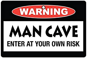 Man Cave Car Air Freshener (christmas Stocking Filler)