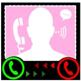 Fake caller app
