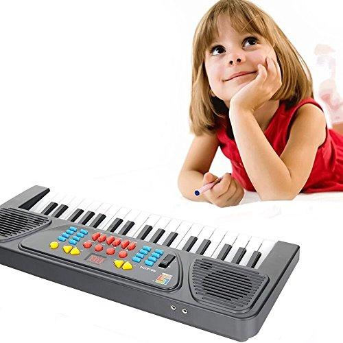 kingtoys® Electric Piano 37-chiave tastiera Pianoforte Digitale Mini Electronic Keyboard Piano Keyboard portatile Bambini Pianoforte con microfono Piano Negozio scherza il regalo bambini giocattoli