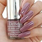 DeBelle Gel Nail Lacquer Majestique Mauve - 8 ml (Mauve Nail Polish)