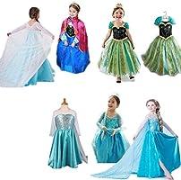 Costume principessa per bimbe. Non Disney. Alternativa di alta qualità. Soddisfatto o rimborsato by Ducomi