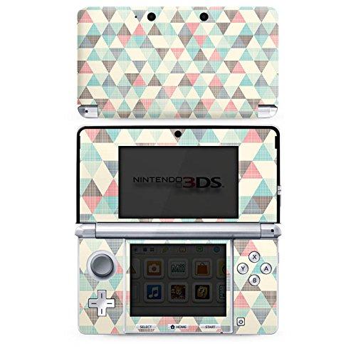 nintendo-3-ds-case-skin-sticker-aus-vinyl-folie-aufkleber-dreiecke-vintage-muster-pastell