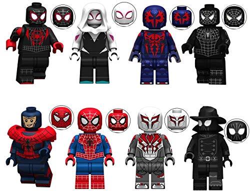 8pcs Action Figures Toy Minifigures Super Heroes Set Building Blocks Toy , Kids Gift