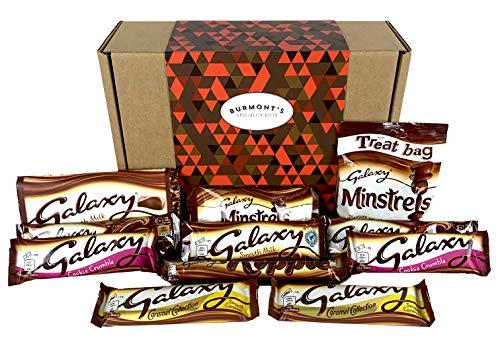 Galaxy Ultimative Schokolade Geschenkbox - Inklusive Welligkeit, Zähler, Karamell, Schokolade, Minnesänger & Mehr - Behindern Exklusive Burmont's (Hersheys Milk Chocolate Bar)