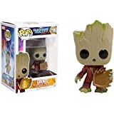 Funko Pop Marvel #208 Guardians of The Galaxy Vol 2 Groot (Hot Topic Exclusive)