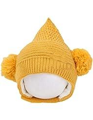 Suaves encantadores del casquillo del sombrero Encargado caliente Invierno Artículo de bebé unisex