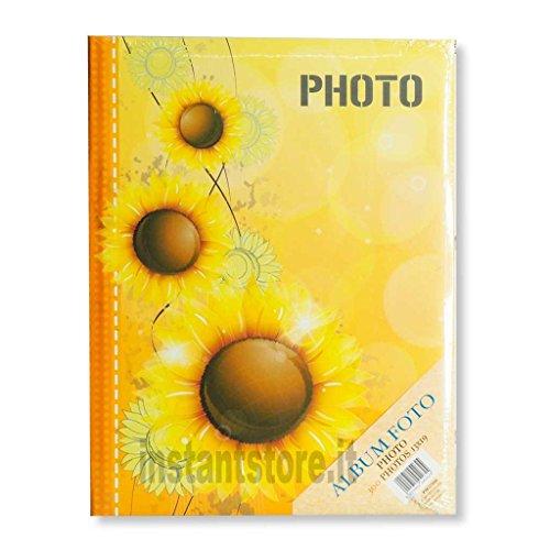 Fotoalbum Zep 300Fotos 13x 19Bilderrahmen A Taschen Slip _ in Sonnenblumen