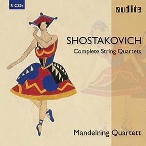 Chostakovitch : L'intégrale des Quatuors à cordes. Mandelring.