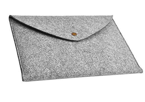 Filz Laptop Sleeve Laptoptasche Hülle Laptophülle Tasche für Notebook Laptophülle Schutzhülle für 10-17 Zoll Macbook,iPad 17
