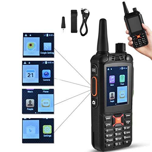 RLF LF 2,4 Zoll 3500Mah USB Wiederaufladbares Super Strong Signal Walkie Talkie, Tragbare Handfunkkommunikation Im Freien Für Raue Umgebung, SOS 3G Dual-SIM-Handy