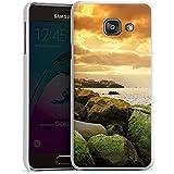Samsung Galaxy A3 (2016) Housse Étui Protection Coque Côte Paysage Rocher