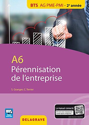 A6 pérennisation entreprise : BTS AG PME-PMI élève par Claude Terrier