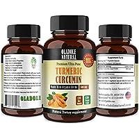 Turmeric, 120 Vegetarian Capsules 500 mg
