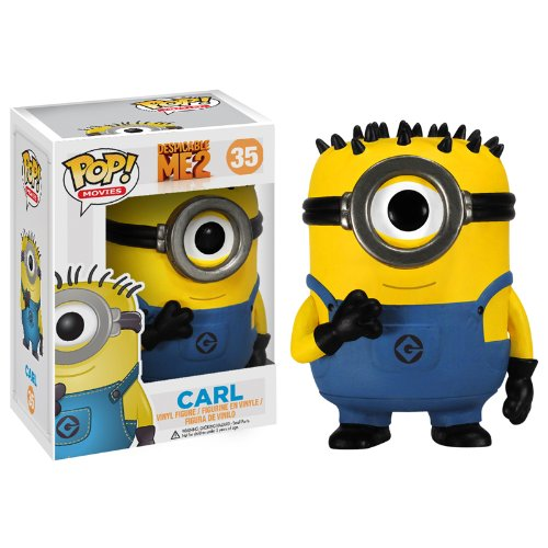 Carl-figur (Minions: Carl Minion Figur POP - Despicable Me 2 (10 cm))