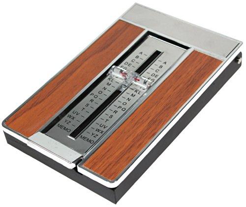 Genius ideas R 157805 Telefonregister 70-er Jahre-Style Holz-Look