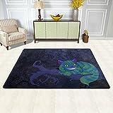 ISAOA Grinsekatze Modern Teppich 3x 2ft strapazierfähig Teppich Gegend Teppiche Läufer für Fußmatte, Küche, ESS-Living Badezimmer Pet Eintrag Teppiche