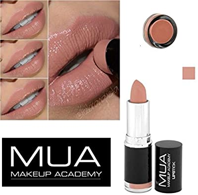 MUA MAKE UP ACADEMY LIPSTICK SHADE 14 -NUDE BARE NAKED -3.8g from mua