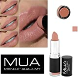 MUA MAKE UP ACADEMY LIPSTICK SHADE 14 -NUDE BARE NAKED -3.8g