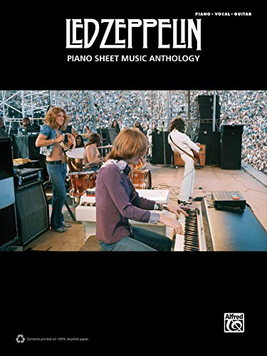 Led Zeppelin: Piano Sheet Music Anthology - Piano/Vocal/Guitar