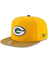 New Era NFL GREEN BAY PACKERS Authentic 2017 Sideline 9FIFTY Snapback Game  Cap e018cf124048
