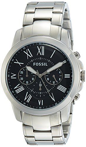Fossil Chronograph Black Men Watch - FS4736