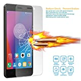 LEMORRY Lenovo K6 Verre Trempé Protecteur d'écran Protection LEMORRY 0.3MM Ultra-mince Haute transparence Résistant aux éraflures 9H HD Glass Screen Protector Vitre TempeRouge
