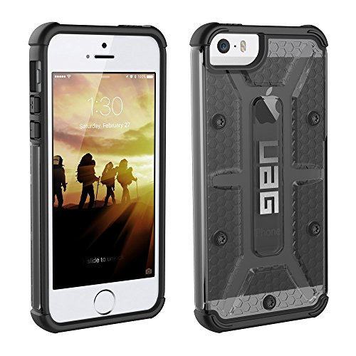 Urban Armor Gear Feather-Light Composite ASH Military Drop Phone Case for iPhone SE/iPhone 5s