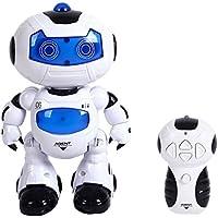 5135e0013ed Bambini Elettronico Passeggiare Ballando Intelligente Spazio Robot  Astronauta Musica Leggera Giocattoli