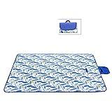 Nachweis Sandstrand Matte Decke, Wasserdicht Pocket-Decke Portable Picknickdecken, Folding Camping Decke-D 180x145cm(71x57inch)