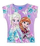 Disney Die Eiskönigin Elsa & Anna Mädchen T-Shirt - violett - 140