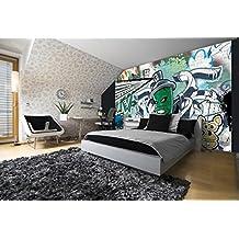 suchergebnis auf f r graffiti tapete. Black Bedroom Furniture Sets. Home Design Ideas