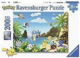 Ravensburger–12840–Puzzle attrapez-Les Alle Pokémon 200Teile