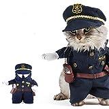 zantec Animal policier Costume chien Jeans Vêtements chat humoristique Apperal Taille 2 3.0