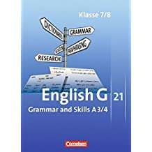English G 21 - Ausgabe A: Band 3/4: 7./8. Schuljahr - Grammar and Skills